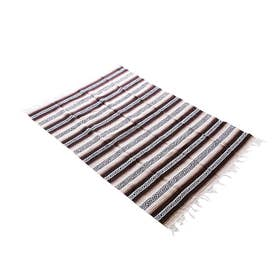 Heavy Weight Falza Blanket (17.TanBrown)