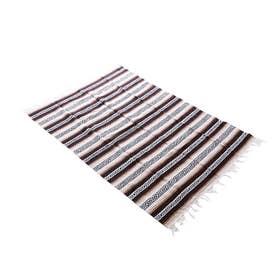 ノーブランド No Brand Heavy Weight Falza Blanket (17.TanBrown)
