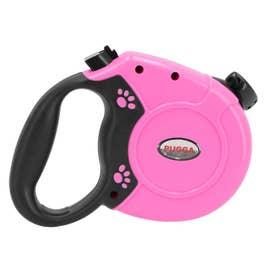 ノーブランド No Brand 犬 伸縮リード 8m 自動巻き取り式 【返品不可商品】 (ピンク)