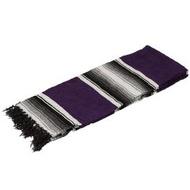 ノーブランド No Brand Diamond Design Blanket (Purple)