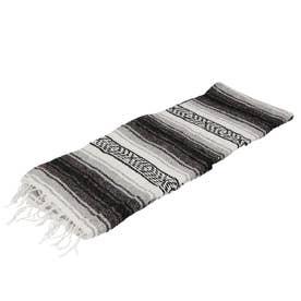 ノーブランド No Brand Economy Mexican Blanket (1.Gray)