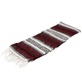 ノーブランド No Brand Economy Mexican Blanket (3.Burgundy)