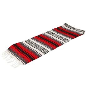 ノーブランド No Brand Economy Mexican Blanket (11.Red)