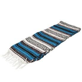 ノーブランド No Brand Economy Mexican Blanket (29.Turquoise)