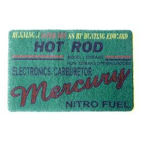 ノーブランド No Brand MERCURY マーキュリー PVCマット (48783.HRブルー)