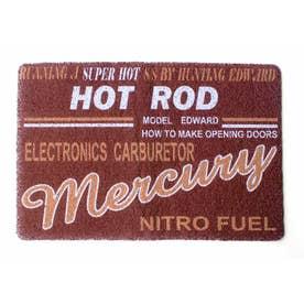 ノーブランド No Brand MERCURY マーキュリー PVCマット (48776.HRマルーン)