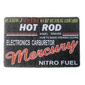 ノーブランド No Brand MERCURY マーキュリー PVCマット (48769.HRブラック)