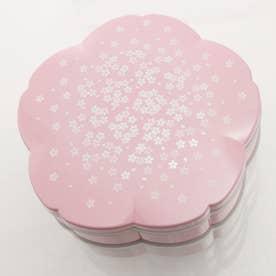 桜 重箱 ファミリーランチボックス 2段 3~4人用 hatsuzakura (pink)