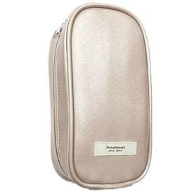ノーブランド No Brand Patto Leather パットレザー ペンケース (ゴールド)