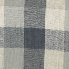 ノーブランド No Brand チェックマルチカバー 225×150 (53338.グレー)