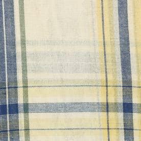 ノーブランド No Brand チェックマルチカバー 225×150 (53350.ブルーベージュ)