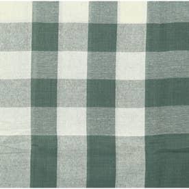 ノーブランド No Brand チェックマルチカバー 225×150 (53220.カーキ)