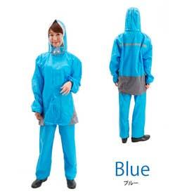 レインスーツ 上下セット (ブルー)