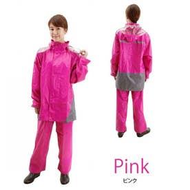 レインスーツ 上下セット (ピンク)