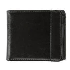 ユナイテッドクラッシー UNITED CLASSY スプリットレザー W-137 W-151 折財布 (137.ブラック)