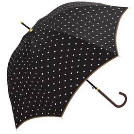 ノーブランド No Brand crx700kasa 58cm 雨傘 グラスファイバー (31224.UドットBK)