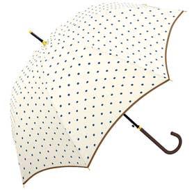 ノーブランド No Brand crx700kasa 58cm 雨傘 グラスファイバー (31226.UドットWH)