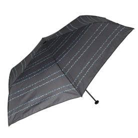 ノーブランド No Brand niftycolors ニフティーカラーズ スマートライトミニ 折りたたみ傘 (1352.ドットボーダーBL)