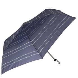 ノーブランド No Brand niftycolors ニフティーカラーズ スマートライトミニ 折りたたみ傘 (1352.ドットボーダーNV)