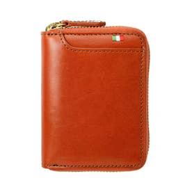 MILAGRO イタリアンレザー ボックスコインケース横型 (オレンジ)