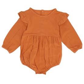赤ちゃん ベビー カバーオール (ブラウン)