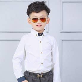 16b05 子供ワイシャツ (ホワイト)