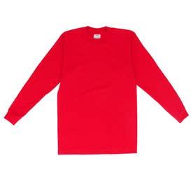 PRO CLUB プロクラブ 119 長袖 コンフォート Tシャツ (レッド)