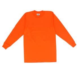 PRO CLUB プロクラブ 119 長袖 コンフォート Tシャツ (オレンジ)