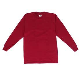 PRO CLUB プロクラブ 119 長袖 コンフォート Tシャツ (バーガンディ)