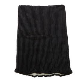 絹綿腹巻き (SH0104.ブラック)