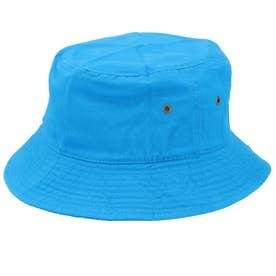 ノーブランド No Brand NEWHATTAN ニューハッタン #1500 stonewash BUCKET HAT solid (ターコイズ)