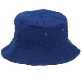 ノーブランド No Brand NEWHATTAN ニューハッタン #1500 stonewash BUCKET HAT solid (ロイヤルブルー)