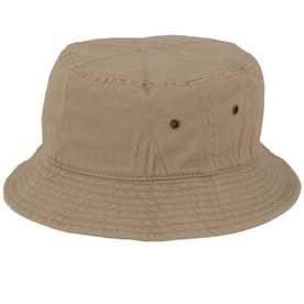 ノーブランド No Brand NEWHATTAN ニューハッタン #1500 stonewash BUCKET HAT solid (カーキ)