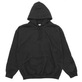 Gildan G185 Adult Heavy Blend 8oz 50/50 Hood (Black)