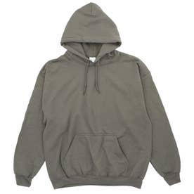 Gildan G185 Adult Heavy Blend 8oz 50/50 Hood (DarkHeather)