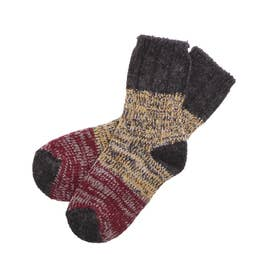 HFOOTWEAR hfootwear ウール混合靴下 (【Cタイプ】PANNEAU_12.グレー)
