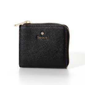 Tiss uNder  L字ジップミニ財布 (ブラック)