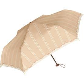 Natural basic レディース 折りたたみ傘 50cm (720014ハートリーフPBG)