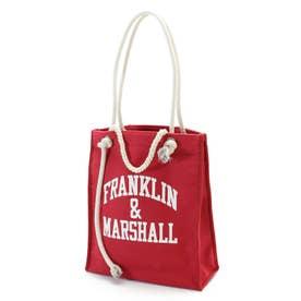 FRANKLIN&MARSHALL別注 プリントトート.2 ボルドー3