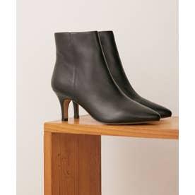 LEINER/ショートブーツ ブラック