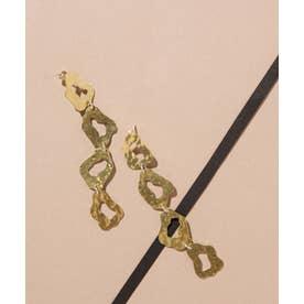 MERAKI/Quatro Earrings ゴールド【返品不可商品】