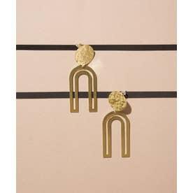 MERAKI/Large Brass Rainbow Earrings ゴールド【返品不可商品】