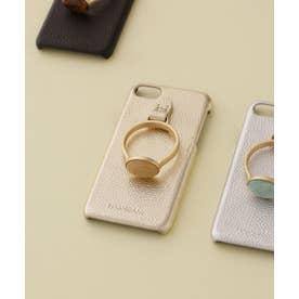 Hashibami/別注天然石リングモバイルケース iPhone7/8 ゴールド