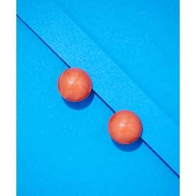 Francine Bramli Paris/ボールイヤリング オレンジ
