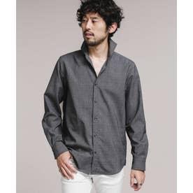 TWカッタウェイシャツ長袖 パターン1