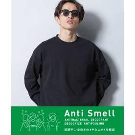 Anti Smell ルーズフィットロングスリーブTシャツ ブラック
