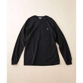 ROSTER BEAR/別注スーツベアTシャツ 長袖 ブラック