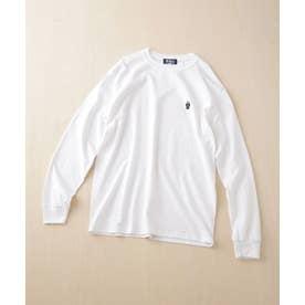 ROSTER BEAR/別注スーツベアTシャツ 長袖 ホワイト