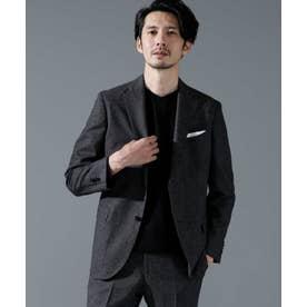動けるスーツ DRAGO フランネルジャケット チャコール3