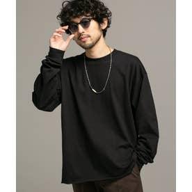 BAYSIDE リメイククルーネックTシャツ/長袖 ブラック